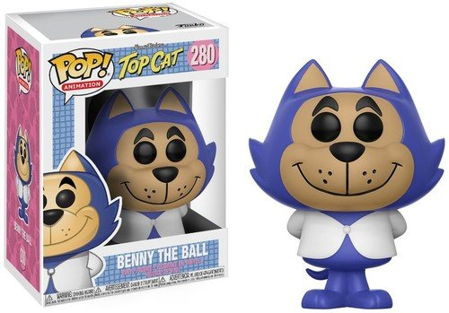 Funko Pop! Animation: Hanna Barbera - Benny The Ball (Styles May Vary) Collectible Figure