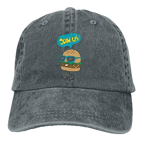 Women Men Hats Sport Skull Us Hat Denim Cowboy DEFFWB for Cowgirl Hamburger Cap Join OCxfq