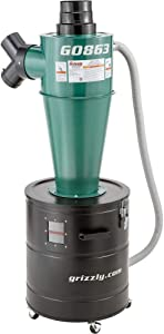 Grizzly Industrial G0863 - Grizzly Growler Cyclone Separator