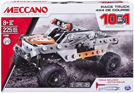 Meccano 10 Model Set Truck Styles Vary