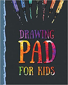 Drawing Pad For Kids Childrens Sketch Book For Drawing