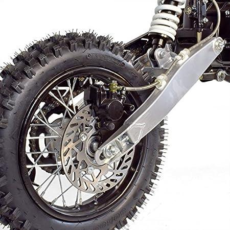 Moto Dirt Bike niños 110 cc 14/12 - recinto Auto 4T - naranja, sin montaje, se envía en caja: Amazon.es: Coche y moto