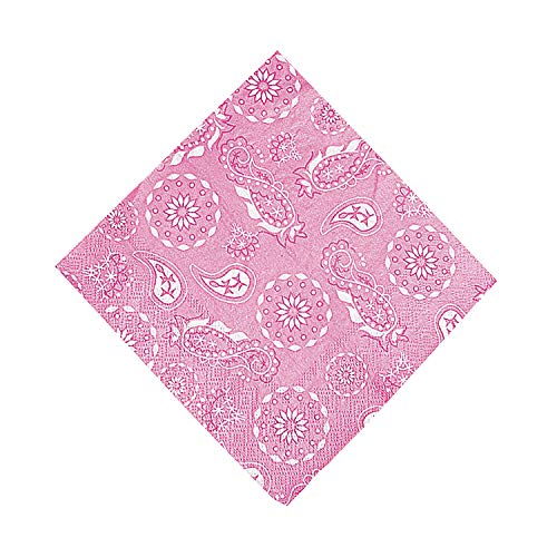 Fun Express - Pink Cowgirl Luncheon Napkins (16pc) for Birthday - Party Supplies - Print Tableware - Print Napkins - Birthday - 16 Pieces -