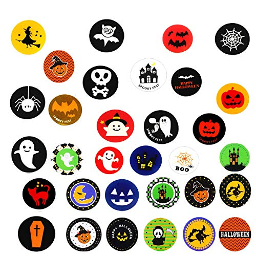 kinddov 600 PCS Halloween Favors Stickers - Assorted