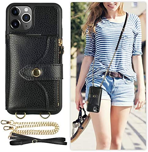 LAMEEKU Crossbody Protective Compatible Inch Black product image