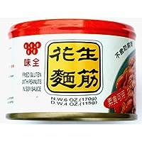 Wei Chuan Fried Gluten with Peanut in Soy Sauce, 170 g