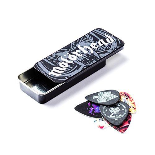 Bass Rock Guitar Picks - Dunlop MHPT03 Motorhead Album Art Pick Tin, Assorted, .73mm, 6 Picks/Tin