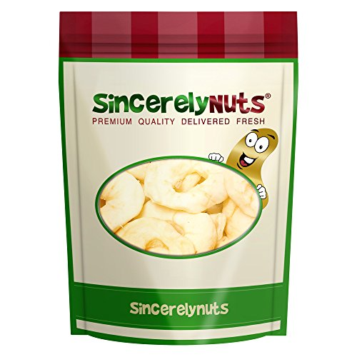 Sincerely Nuts Dried Apple Rings - One Lb. Bag - Irresistibl