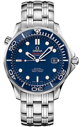 Omega Seamaster Diver - Omega Men's 212.30.41.20.03.001 Seamaster Diver 300m Co-Axial Automatic Swiss Automatic Silver-Tone Watch