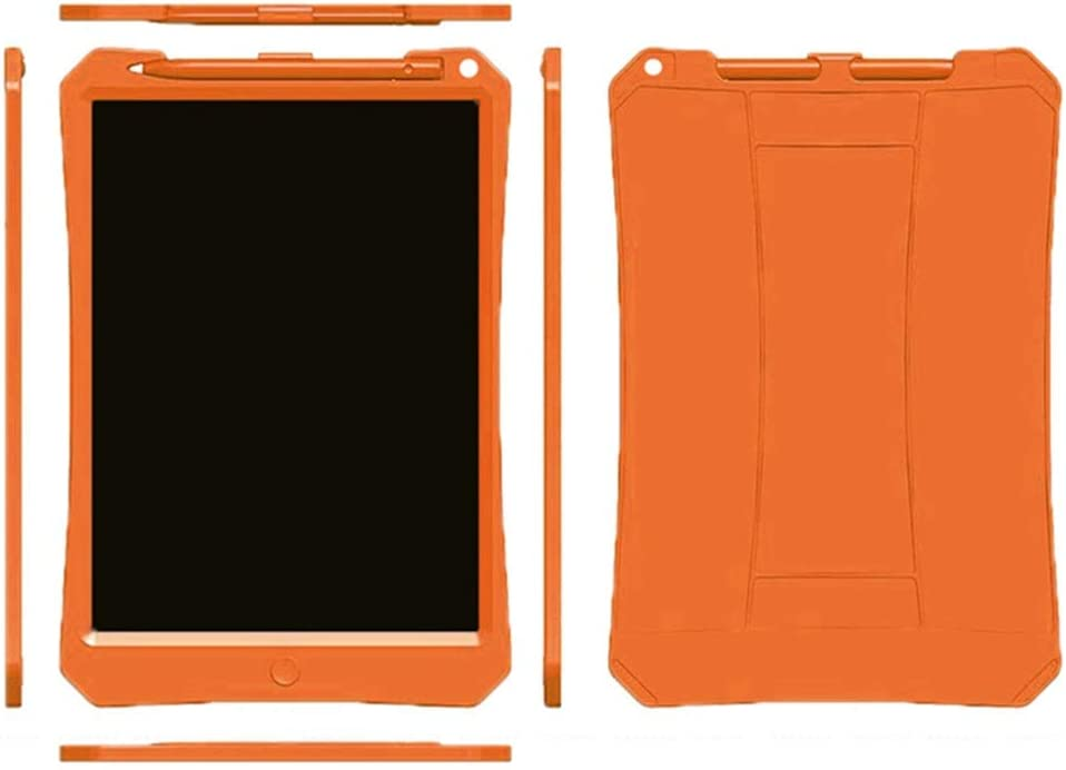 One-Click Delete Graffiti Sketch Digital Memorandum for for Kids and Adults Orange 11 Inch Light Energy Small Blackboard//Childrens Writing Board//LCD Tablet
