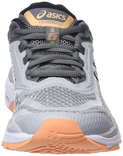 Carbon 6 Asics 020 Grey Grey Mid Running Women''s Shoes 2000 Gt qPgtwPz