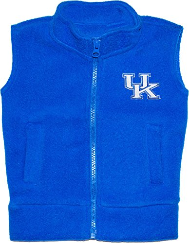 University of Kentucky Wildcats Newborn Baby Polar Fleece vest