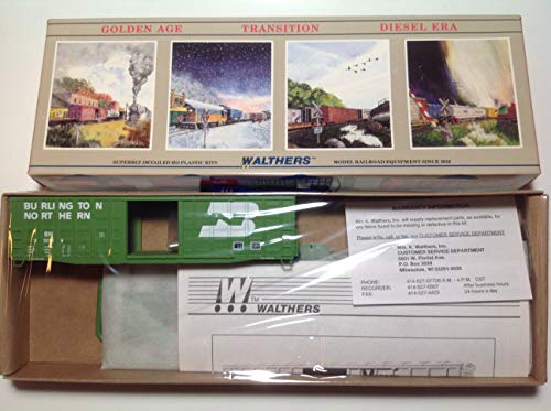 Walthers HO Scale Burlington Northern BN #332159 50' Waffle Box Car