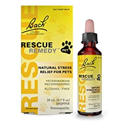 Thunderstorms, fireworks, vet visits — pets get stressed too! It is easy to tell when the world around is becoming too much for your pet. In these times, a few drops of RESCUE REMEDY PET can help reduce their stress without the side effects often fou...
