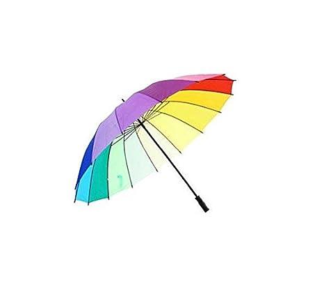 16 Rib Rainbow paraguas de golf