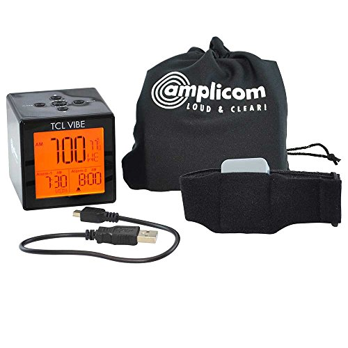 Bellman & Symfon - Amplicom Tcl Travel Dual-alarm Clock With
