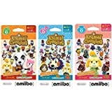 Nintendo Animal Crossing amiibo Cards Series 2, 3, 4 for Nintendo Wii U and 3DS, 1-Pack (6 Cards/Pack) (Bundle) Includes…