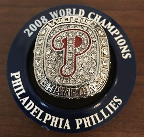 - BRAND NEW!! Philadelphia Phillies JIMMY ROLLINS Retirement Night 2008 World Series Replica Ring 5/4/19 SGA Citizens Bank Park Exclusive