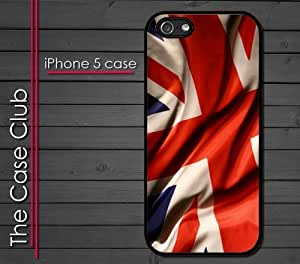 iPhone 5C (New Color Model) Rubber Silicone Case - UK British Flag