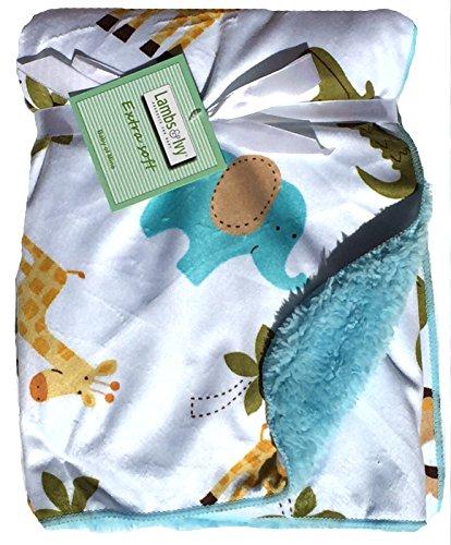 Baby Boy Blankets Anti Pilling Crocodile product image