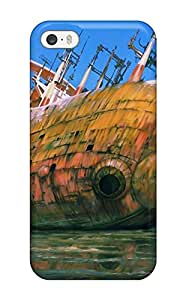 Rosemary M. Carollo's Shop 4658552K874589406 anime sci fi mech ship wreck ruin decay Anime Pop Culture Hard Plastic iPhone 5/5s cases