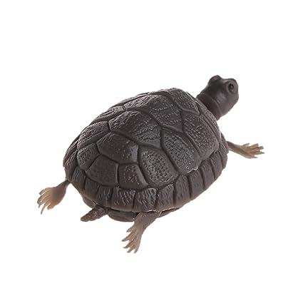 Exing Aquarium Accessories - Figura Decorativa para pecera, diseño de Tortuga de Acuario