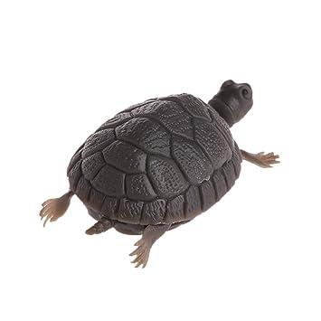 LANDUM Decorate Fake Tortoise Aquarium Emulational Tortugas flotantes al Acuario decoración: Amazon.es: Hogar