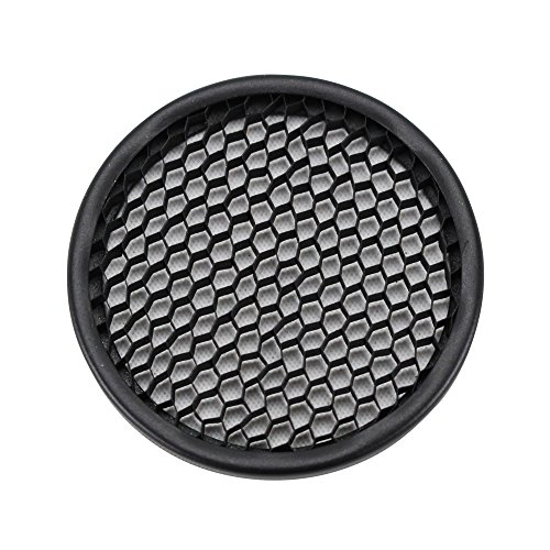 Hex Cell Louver in Matte Black Size: 2