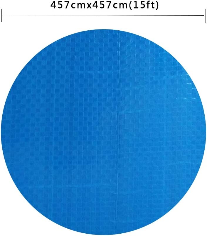 Paddling Pool Cover Round Dustproof And Rainproof Thickening Family Pool Cover Protector Maryaz Swimming Pool Cover Heavy Duty Cover For Above Ground Swimming Pools