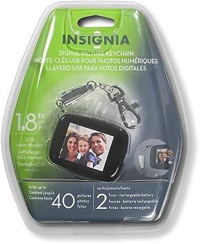 Insignia NS-DKEYBK09 - Llavero Digital con Pantalla LCD (1,8 ...