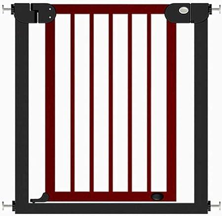 NOOYC Barrera de Seguridad para Puertas, Extra Estrecha 76-153cm Puerta de Seguridad Ajustable sin taladrar Barrera Seguridad Multicolor Bebé Puerta de la Escalera Valla,76-83cm: Amazon.es: Hogar