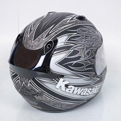 Casco integral Kawasaki k-ninja Dragon Talla XL, colores negro y gris mate Neuf: Amazon.es: Deportes y aire libre