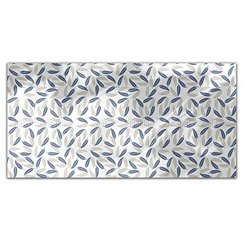 Hawaiian Leaves Rectangle Tablecloth: Medium Dining Room Kitchen Woven Polyester Custom Print by uneekee