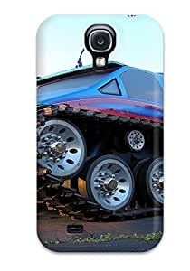 Cute Appearance Cover/tpu StcyXrl309GqNMT Monster Truck Case For Galaxy S4