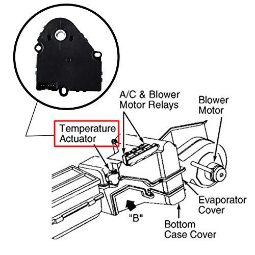 Amazon Com Poweka 89018365 Air Door Actuator Hvac Blend Control