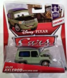 Disney / Pixar CARS 1:55 Scale Die Cast Miles Axlerod with Open Hood - Chase [Palace Chaos 4/9]