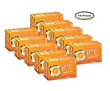 PACK OF 10 - Sparkling Ice® Orange Mango Sparkling Water 8-8 fl. oz. Can