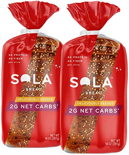 Sola Deliciously Seeded Bread – Low Carb, Low