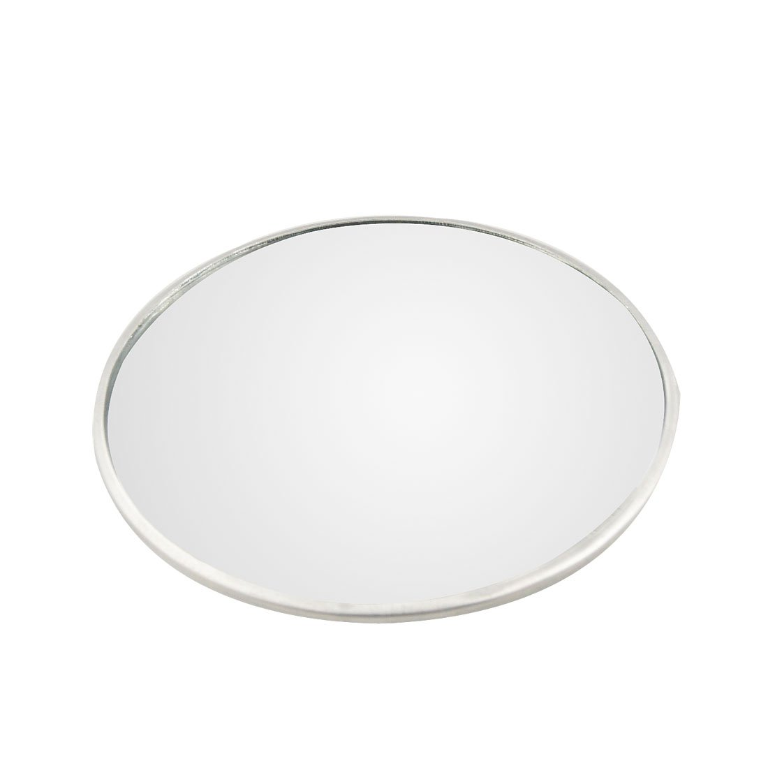 uxcell® Silver Tone 3' Auto Car Wide Angle Round Convex Side Rearview Blind Spot Mirror