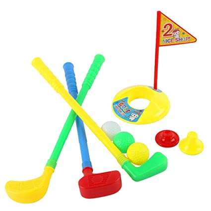 Set de golf de juguete para niños de golfista Retro Silla de ...