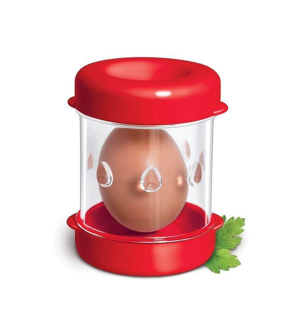 Hard Boiled Eggs Peeler and Cracker Boiled Egg Shell Peeler Stripper ,Shake and Peel Peeling Kitchen Tool, egg opener tool (11)