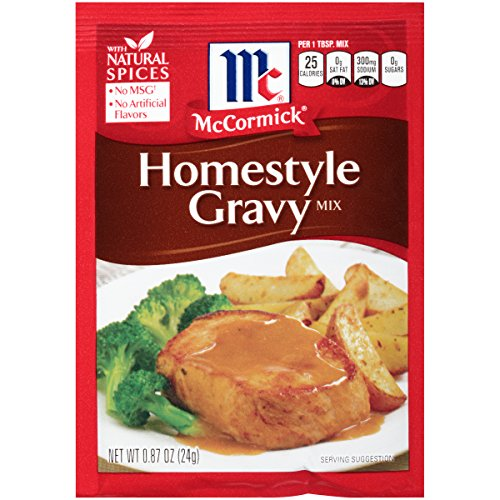 Style Gravy Mix (McCormick Homestyle Gravy Mix, 0.87 Ounce)