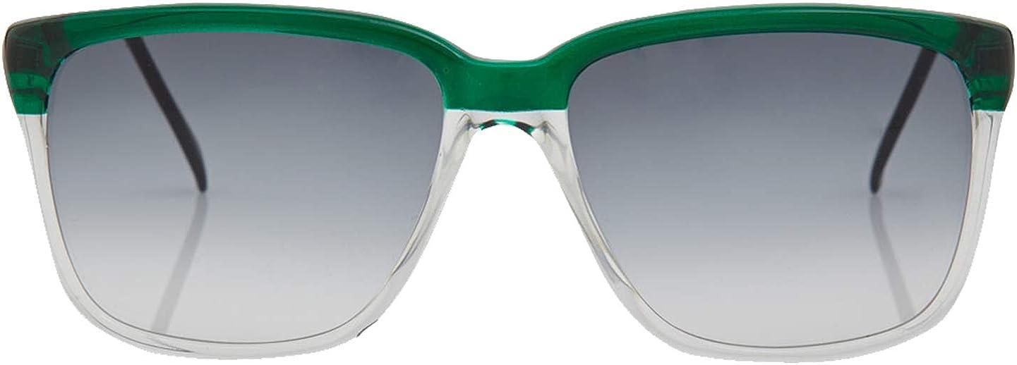 Sheriff /& Cherry Black White Mirrored Sunglasses