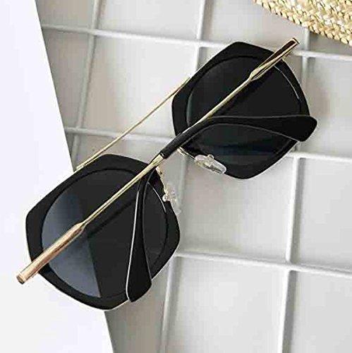 De De Gafas Nueva De Sol La plateado De Las Gafas Poligonales Sol Personalidad Mujeres RZxaCwHdq