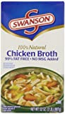 Swanson Broth, 99% Fat Free, Chicken, 32 Ounce