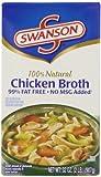 Swanson Chicken Broth 99% Fat Free, 32 oz