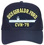 MilitaryBest USS Gerald R Ford CVN-78 Ship Cap