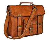 Adimani Shoulder Satchel Bags Cross body Messenger Vintage Travel Bag for Men & Women Compatible Apple Macbook