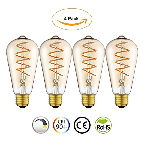 Led Spiral Light Bulb - 4