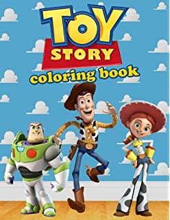 Toy Story Coloring Book Disney Pixar Activity For Kids 40 Illustrations